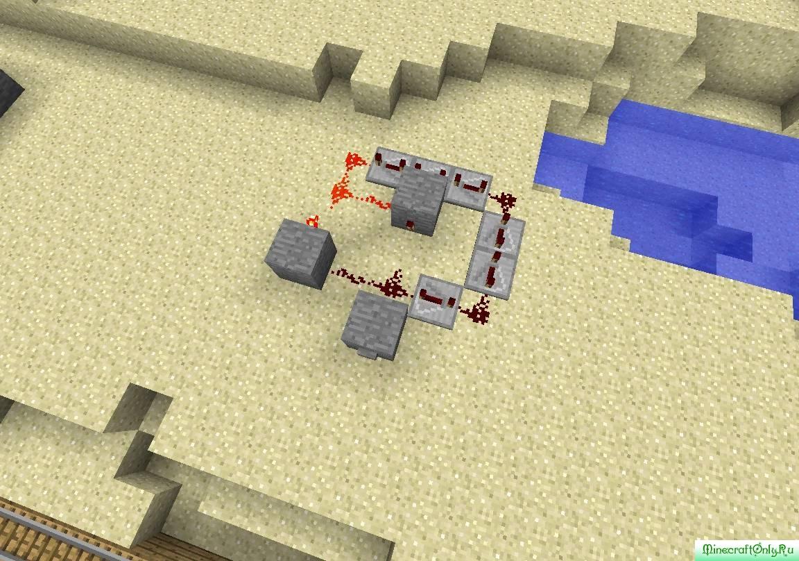 Minecraft как сделать запоминающее устройство