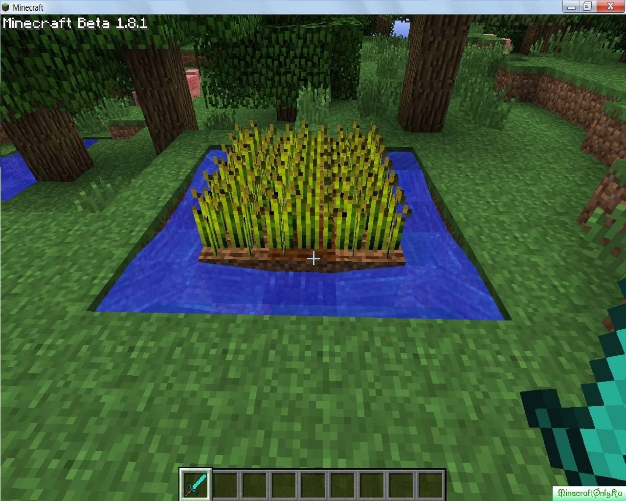 как в майнкрафте вырастить пшеницу #1