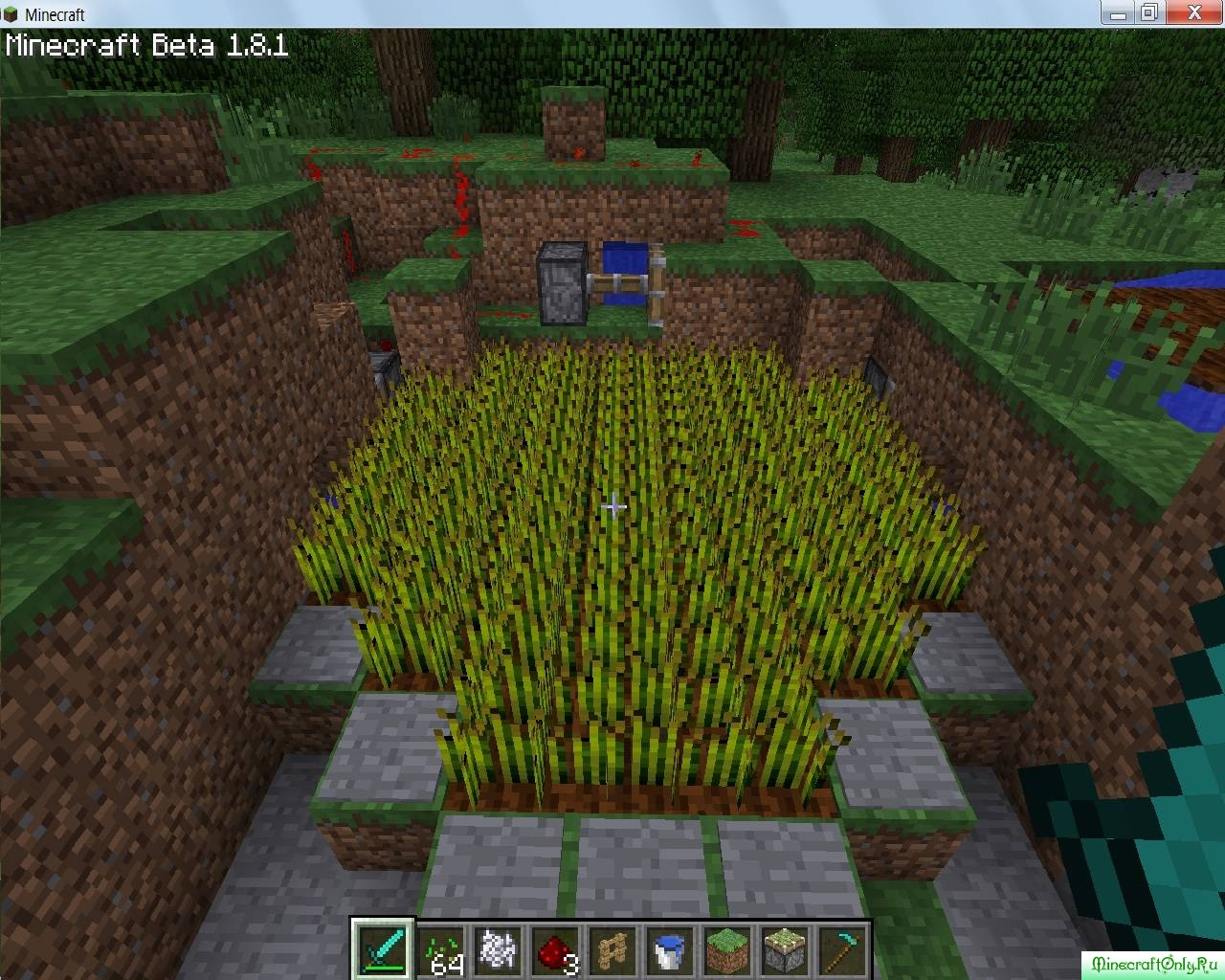 как в майнкрафте вырастить пшеницу #3