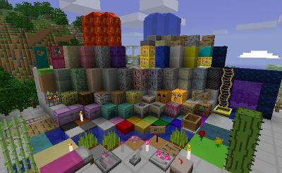 Популярные текстур паки minecraft