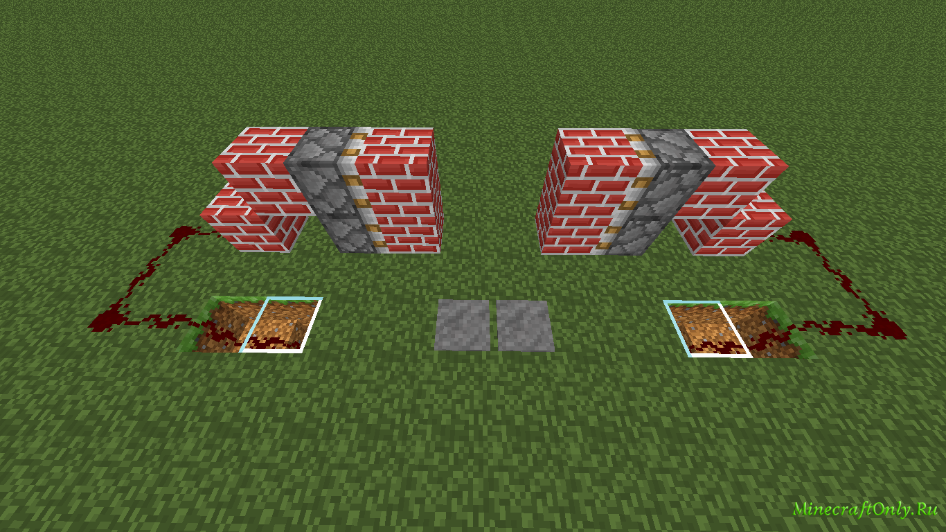 minecraft редстоун схемы