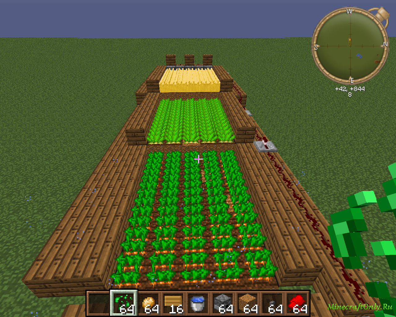 Как в майнкрафт сделать автоматическую ферму