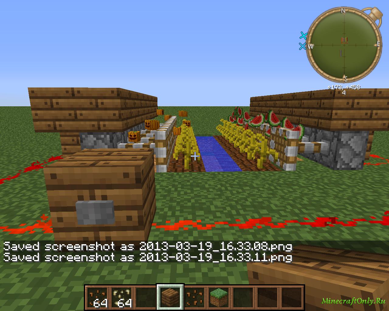 видео как сделать автоматичческую ферму арбузов в майнкрафт #4