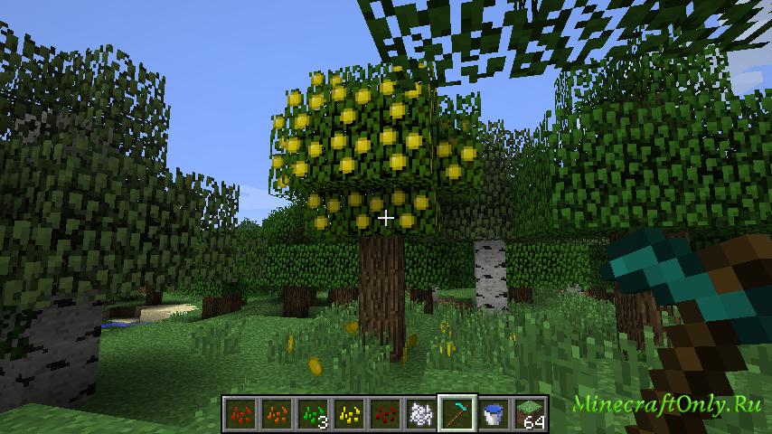172 майнкрафт мод на фруктовые деревья #7