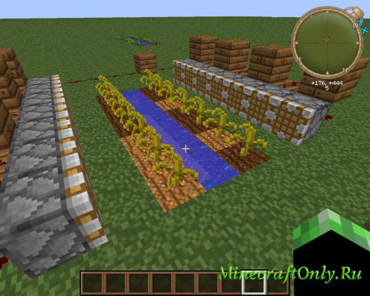 видео как сделать автоматичческую ферму арбузов в майнкрафт #3