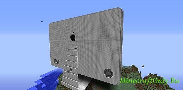 """Minecraft. Интерактивный дисплей! """" MinecraftOnly """" начать игру на лучших серверах майнкрафт"""