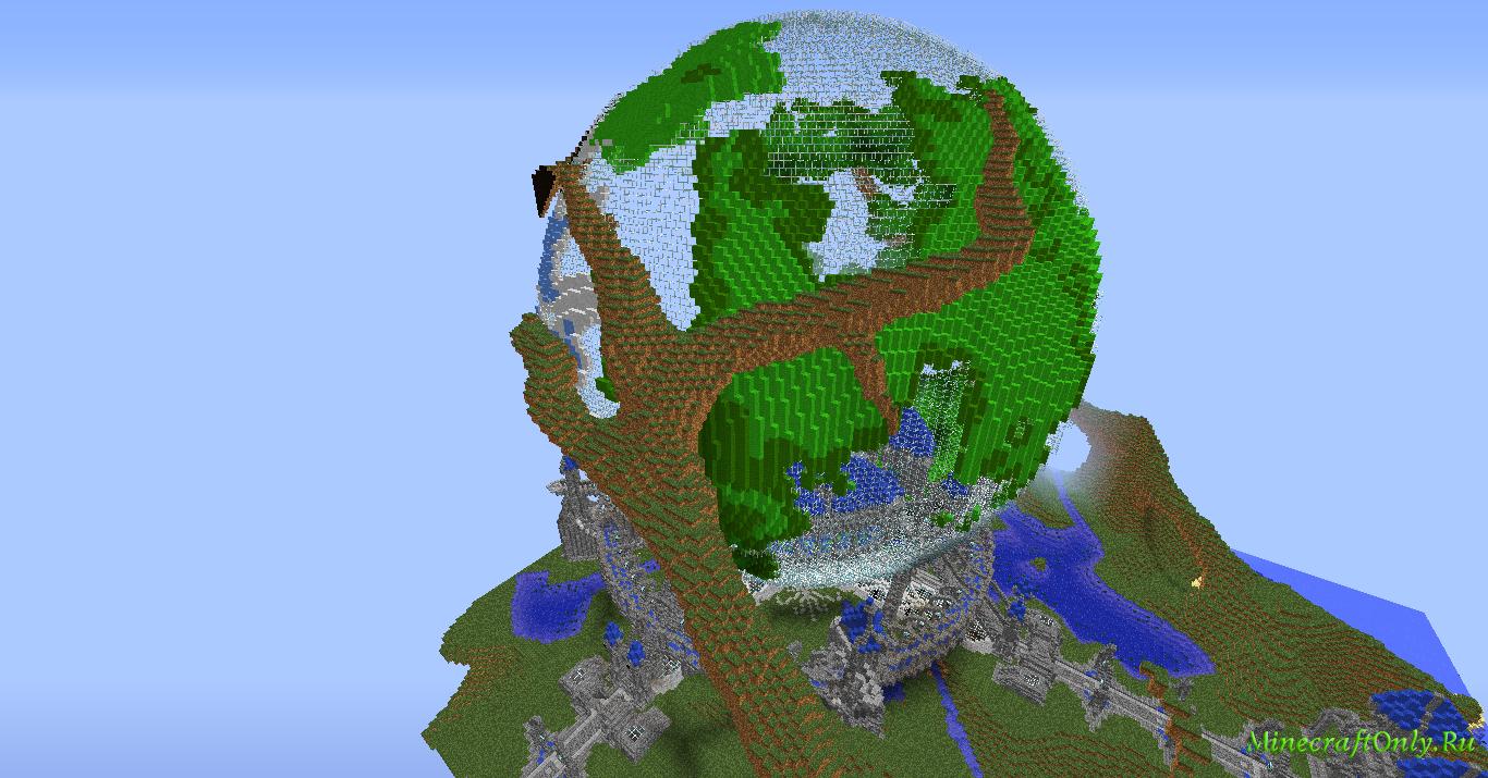 [Maps] Карта планеты Земля (Minecraft) [Final ...