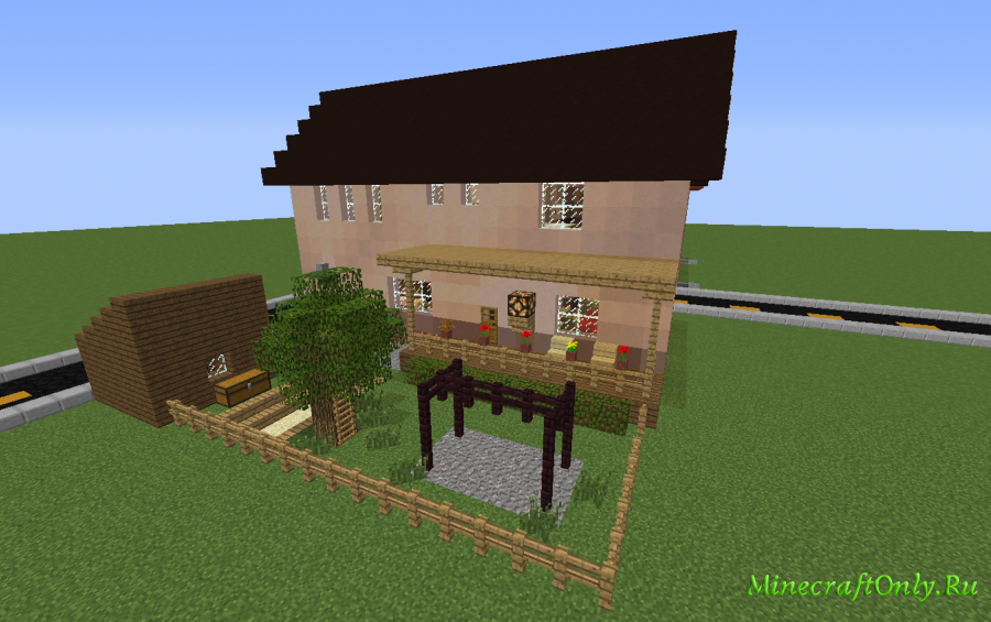 Middle-class Modern House