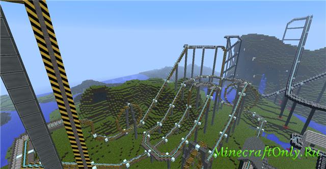 Скачать Карту Парк Развлечений для Minecraft