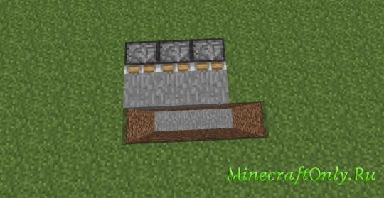 Как сделать рельсы из редстоуна