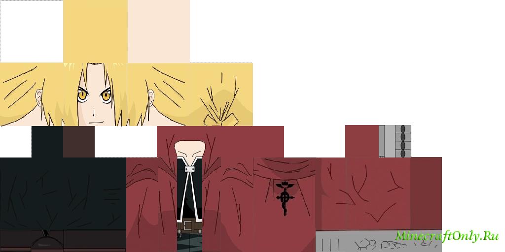 скины для майнкрафт аниме #8