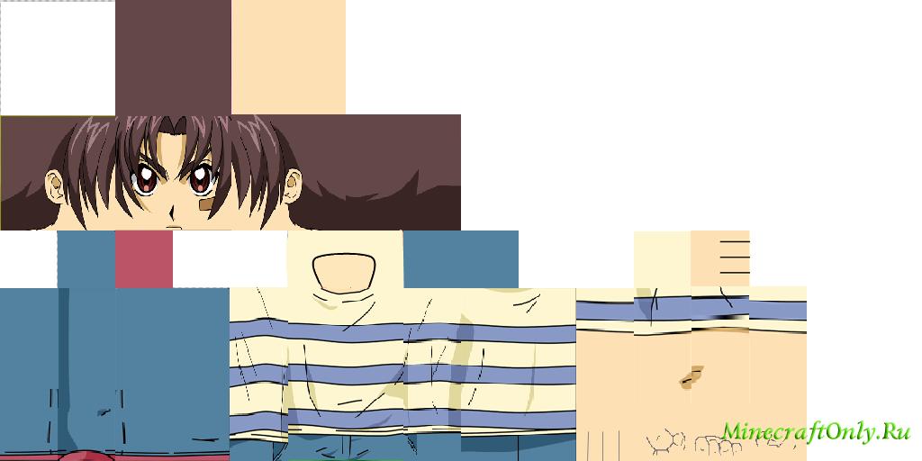 hd скины аниме на майнкрафт #8