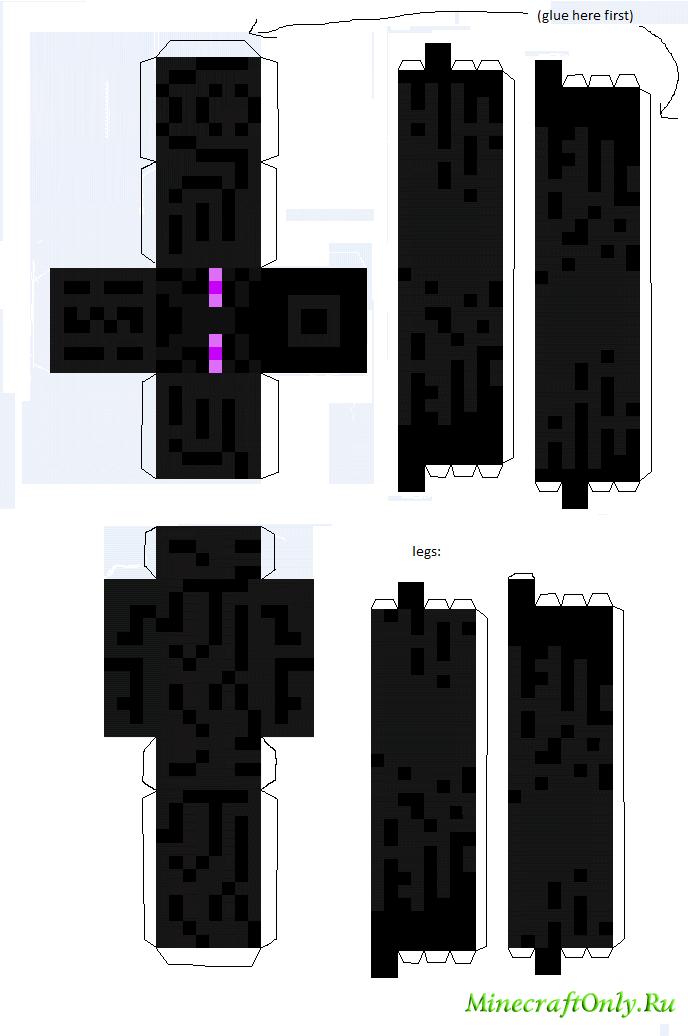Minecraft фигурки. #1