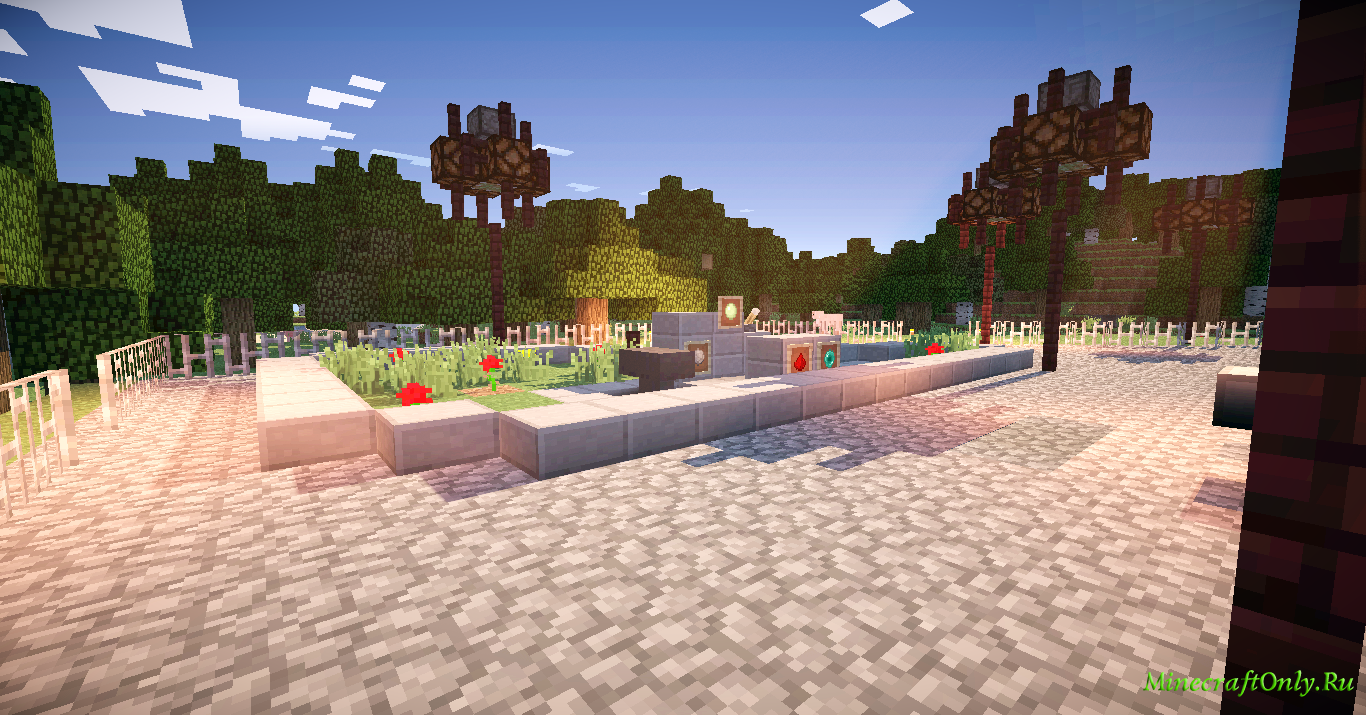 """Карта детской площадки... """" MinecraftOnly """" начать игру на лучших серверах майнкрафт"""