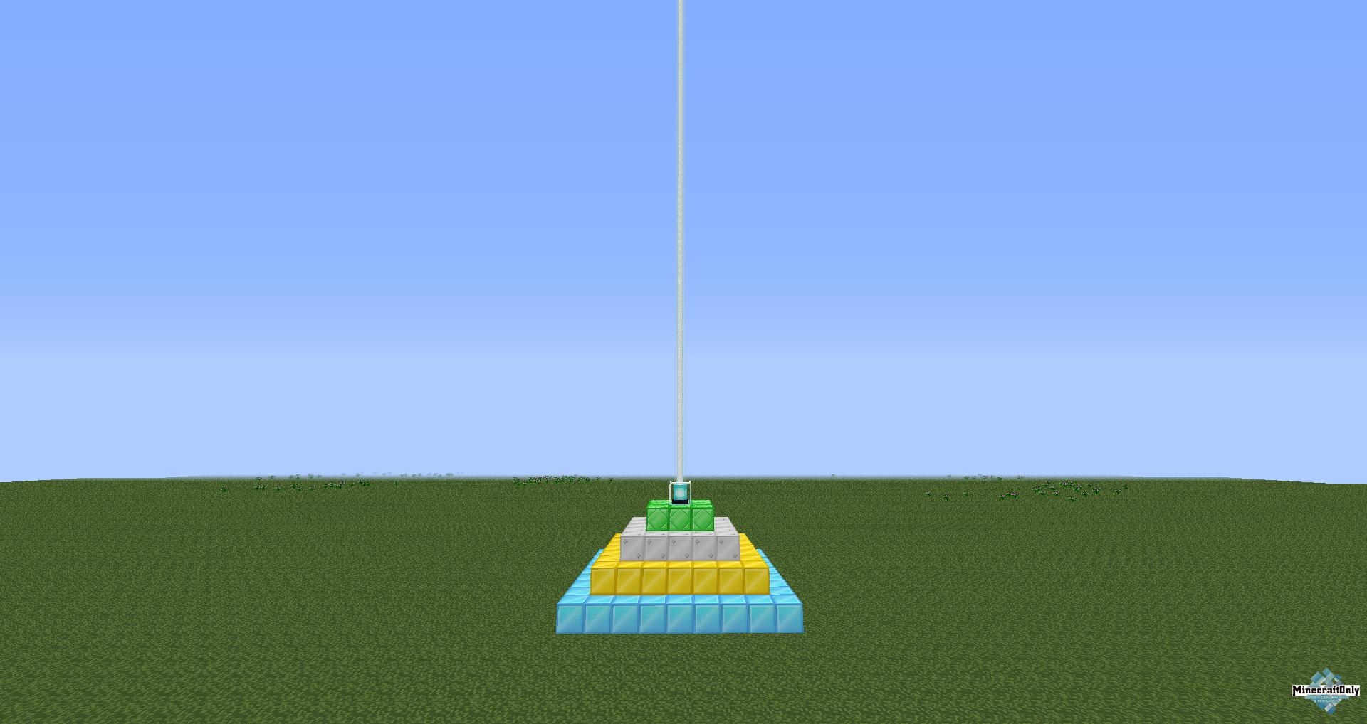как сделать маяк в майнкрафте #9