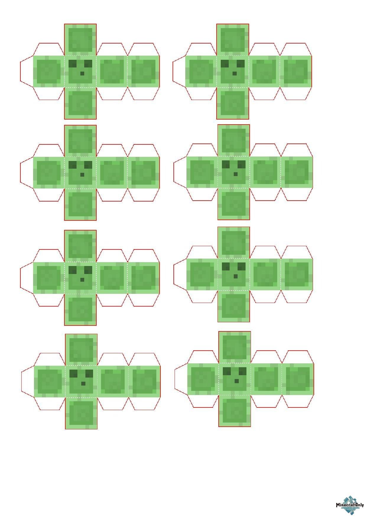 схема бумажных фигур