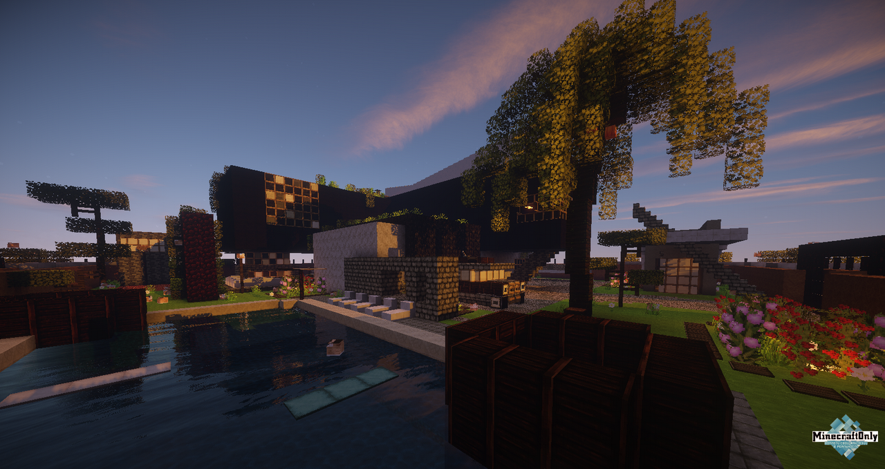 Defroi Villa Minecraftonly