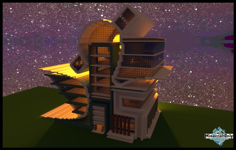 Minecraft карта - Огромный город! - YouTube