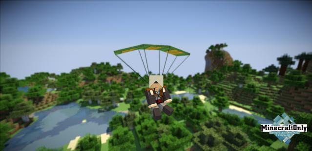 Скачать parachute mod для майнкрафт 1. 11 мод на парашют.