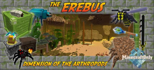 [1.7.10] [Mods] The Erebus - Мир членистоногих!