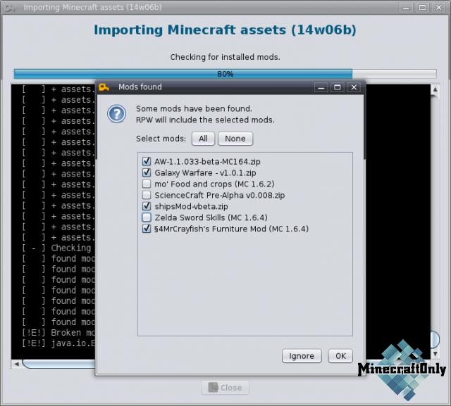 [Software] ResourcePack Workbench - создай свой ресурс пак!