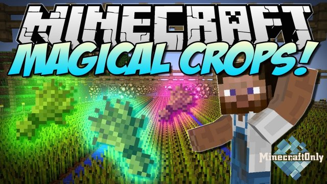 [1.7.10] [Mods] Magical Crops - Вырасти алмаз!