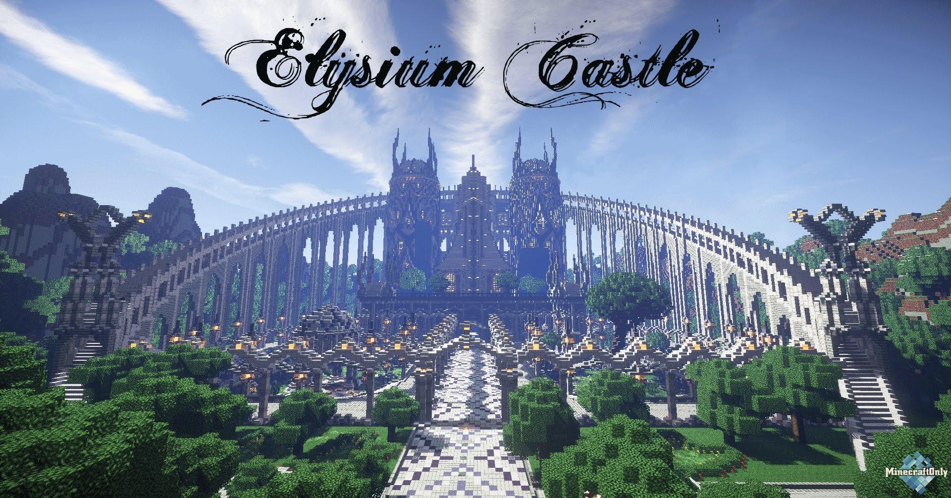 Minecraft Fantasy Castle Build Timelapse - YouTube ...