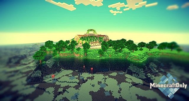 SPAWN Новый Спавн Для сервера Minecraft 1.8 » Minecraft ...