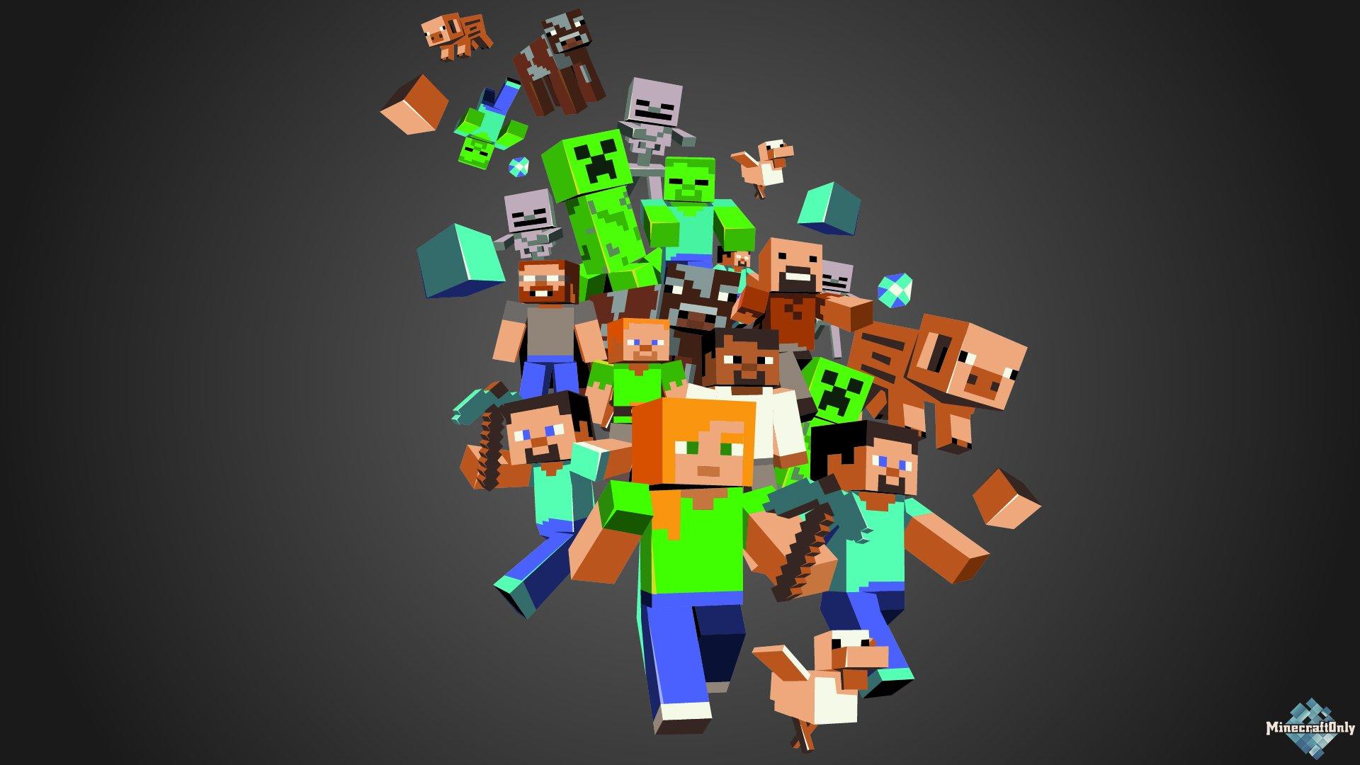 картинки minecraft на рабочий стол