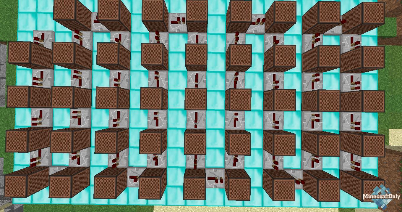 Как сделать нотный блок в майнкрафт фото 38