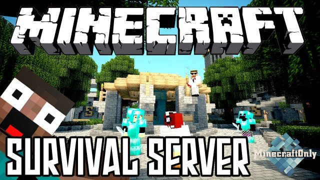 Minecraft Survival Server 1.5.2 - 1.8.8