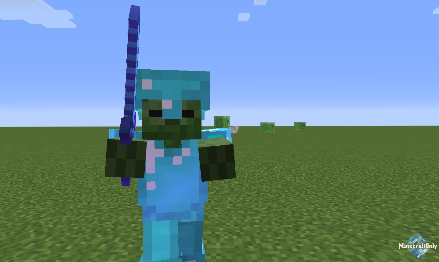 Minecraft как сделать зомби фото 359