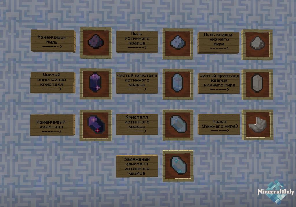 Как сделать кварцевый кристалл в майнкрафте - Ubolussur.ru