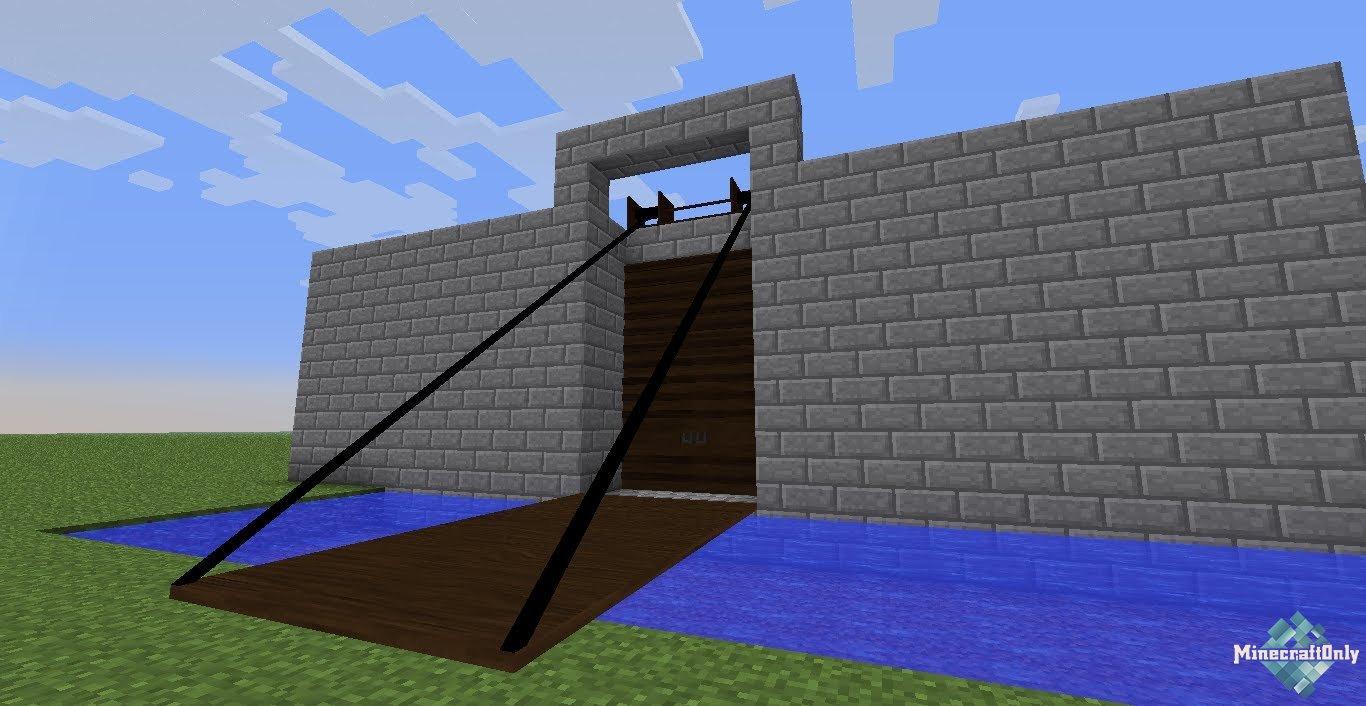 """1.6.4-1.8 Tall Doors - новые виды дверей """" MinecraftOnly """" начать игру на лучших серверах майнкрафт"""