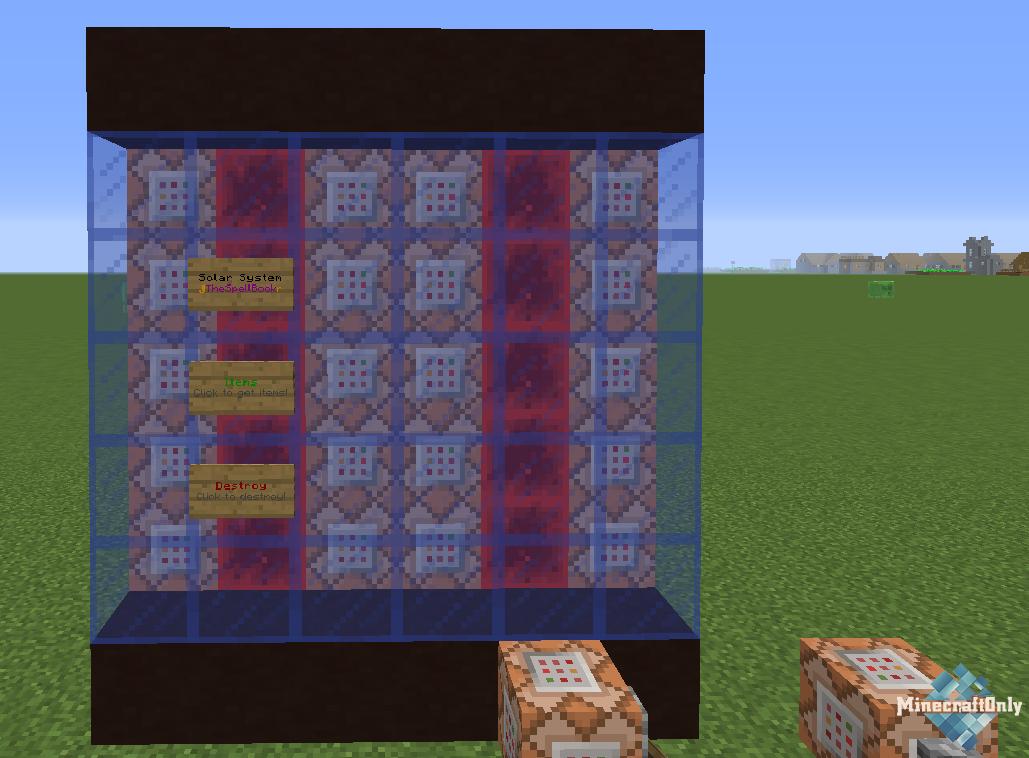 Как сделать панель в minecraft фото 431