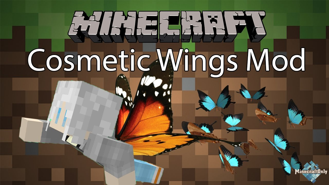 мод майнкрафт на шляпы и крылья #3