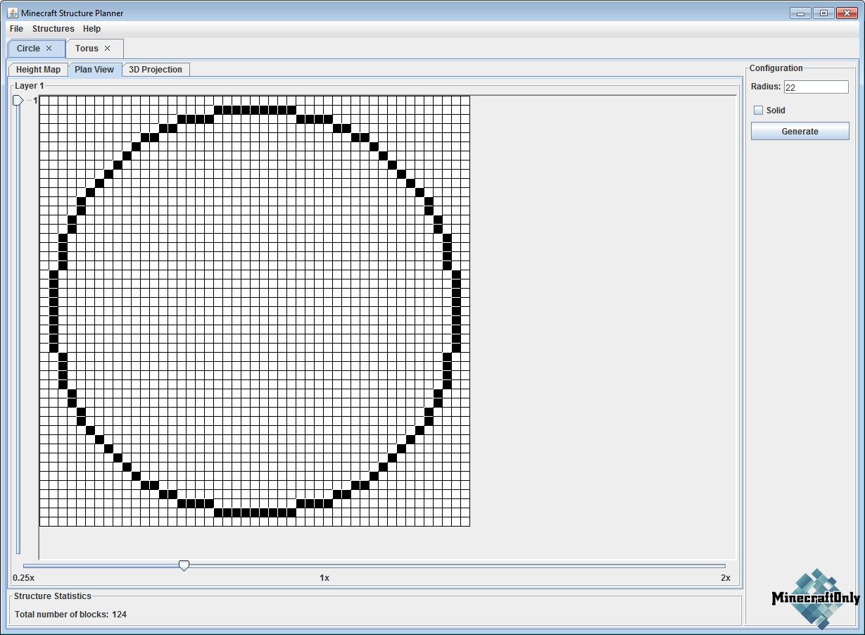 Software Minecraft Structure Planner Создай сферу круг и прочие структуры 187 Minecraftonly
