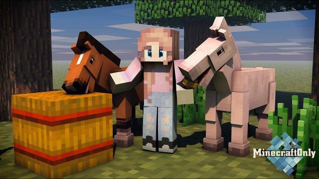 10 Женских HD Скинов для Minecraft