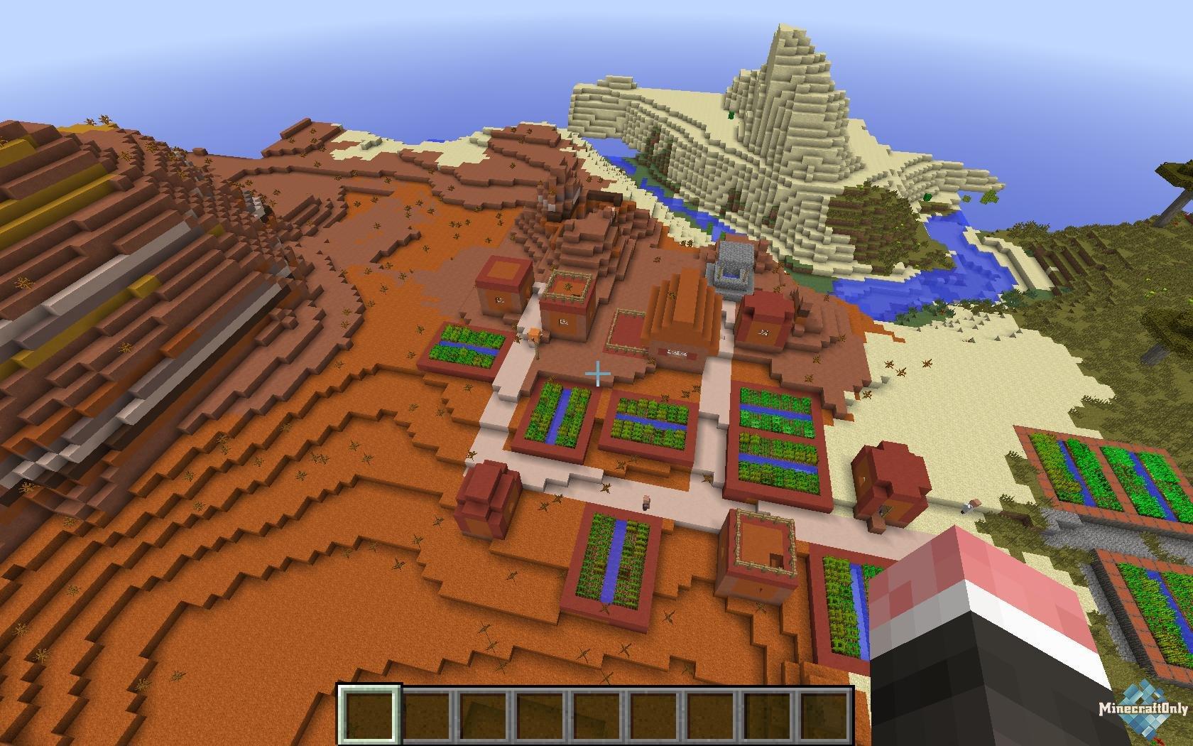 """1.7.10 - 1.11 Mo' Villages - Больше деревень в Minecraft! """" MinecraftOnly """" начать игру на лучших серверах майнкрафт"""