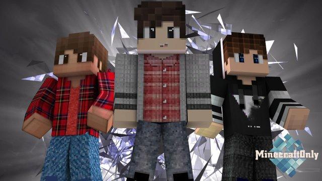 10 Мужских HD Скинов для Minecraft
