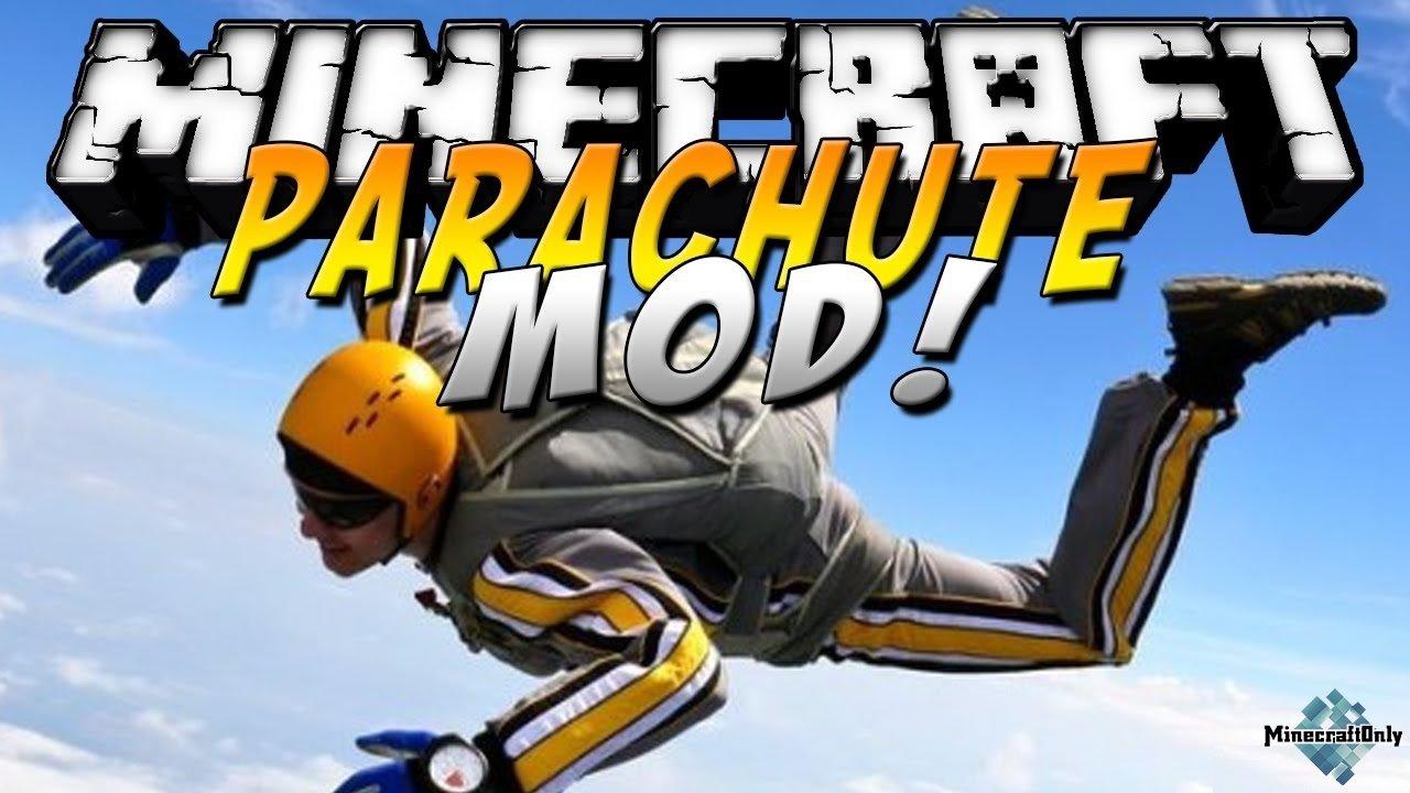 Скачать parachute mod для майнкрафт 1. 5. 2 мод на парашют.