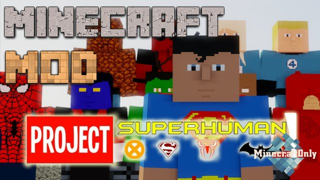 [1.7]Project superhuman - стань супергероем!