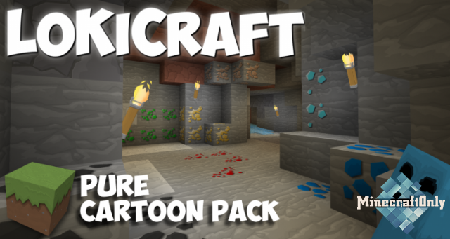 [1.11.X] [128x] LoKiCraft Pure Cartoon Pack