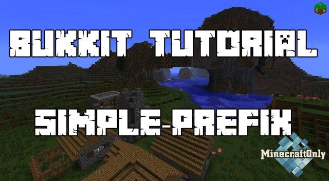 [1.10] Simple Prefix - добавь префикс!