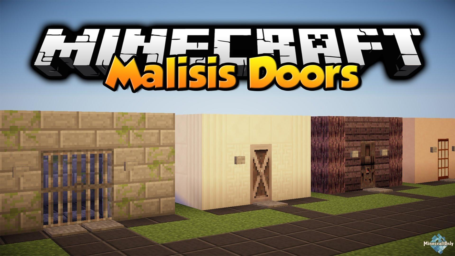 мод на двери в майнкрафт 1.7.10 #11
