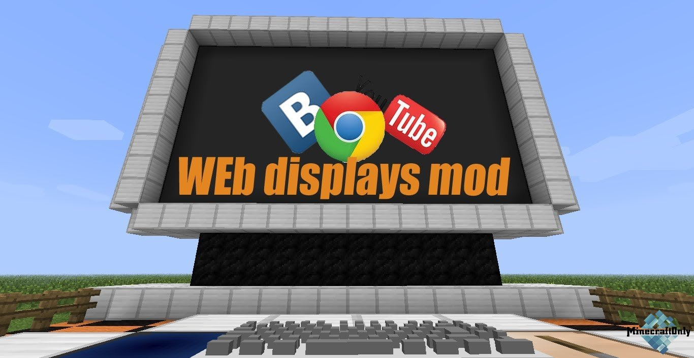 майнкрафт мод web displays 1.7.10 #7