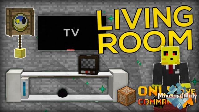 [Command Block] Living Room Furnitures