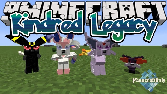 [1.12.2]Kindred Legacy - новые мобы в Minecraft