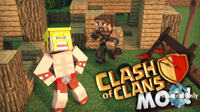 [1.8] Clash of Clans mod.