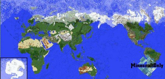 [Карта] Earth Map